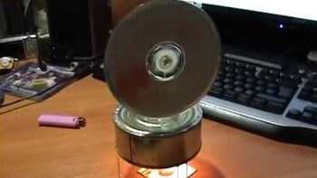 Homemade Stirling Engine