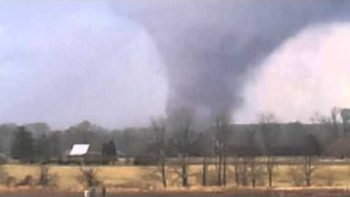 Southern Indiana Tornado Footage