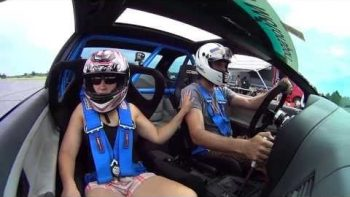 Autocross Driver Pulls Over To Propose To Girlfried