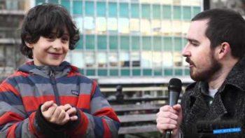 Kids On The 2012 Oscars