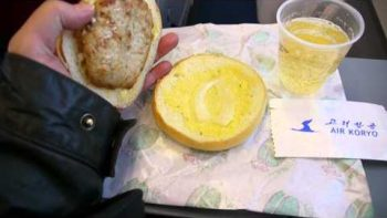 North Korean Airline Serves Gross Hamburger