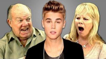 Elders React To Justin Bieber