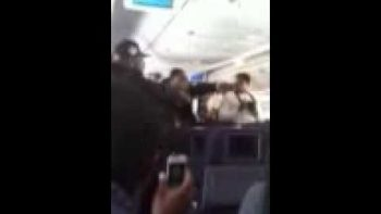 NY Giants Celebrating, Singing On Plane Ride Home After Winning Super Bowl