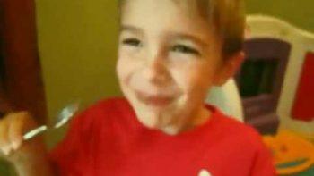 Little Boy Completes Cinnamon Challenge