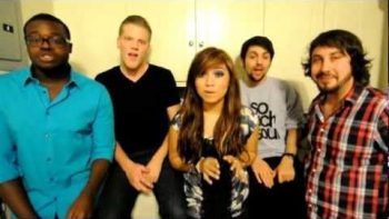 Pentatonix Perform A Cappella Cover Of Lady Gaga's Edge of Glory