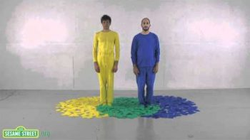 OK Go Three Primary Colors Sesame Street Music Video