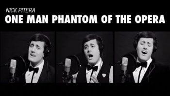 One Man Phantom of the Opera Medley Cover
