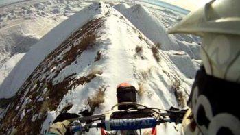 Biking On Mountain Top
