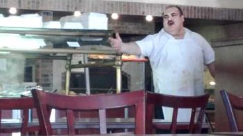 Italian Pizza Chef Sings