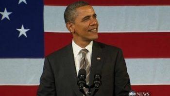 Barack Obama Sings Start To Al Green's Let's Stay Together