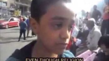 Twelve Year Old Egyptian Boy Explains What's Wrong With The Country