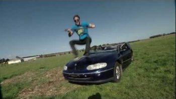 Huge Axe Smashes Car Prank FAKE