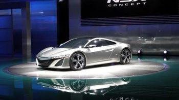 New 2013 Acura NSX Concept
