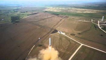 Grasshopper Rocket 325m Test