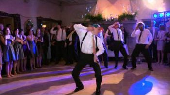 Groom Performs Epic Dance For His Bride At Wedding To Justin Bieber's Baby