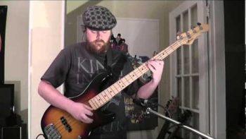 Daft Punk Get Lucky Bass Cover