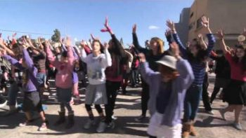 Women Perform Dancing Flash Mob In Bet Shemesh To Don't Stop Me Now