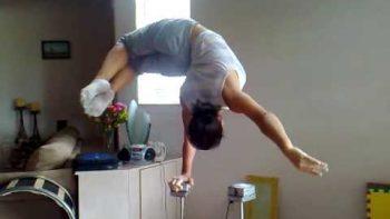 Amazing Acrobatic Hand Balancing