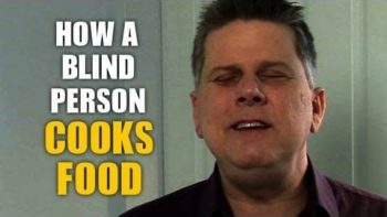 How A Blind Person Cooks Dinner