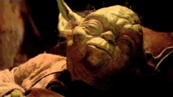 Last Yoda Scene In Return Of The Jedi Re-Edited With Farting Sounds