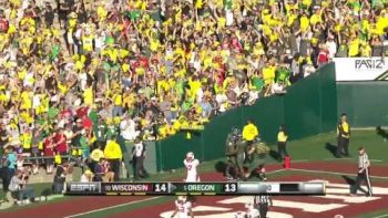 De'Anthony Thomas Runs Super Fast 91 Yard Touchdown At Rose Bowl