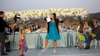 Maid Of Honor Performs Toast Rap Spoofing 'Without Me' By Eminem