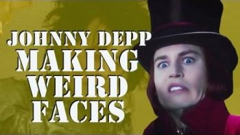 Johnny Depp Making Crazy Faces Compilation