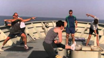 Australian Navy Dance Music Video To Duck Sauce's Barbra Streisand Techno Song