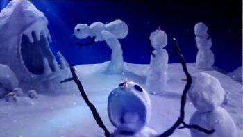 Calvin & Hobbes Snowman Scenes Remake