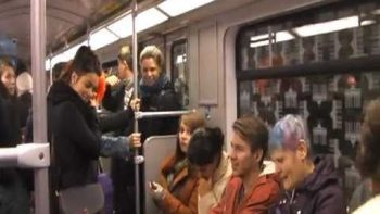 Laughter Infectiously Spreads To Passengers On Train