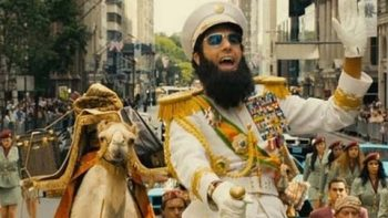 Sacha Baron Cohen Stars In The Dictator Trailer