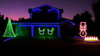 Slayer Christmas House Light Show