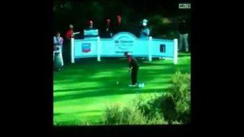 Spectator Shouts Mashed Potatoes After Tiger Woods Shot