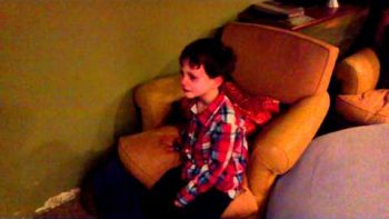 Boy Cries 'I Hate Tom Brady'