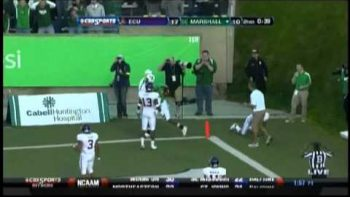 Aaron Dobson One Handed, Backwards Touchdown Catch