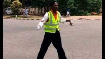 Nigerian DancingTraffic Cop