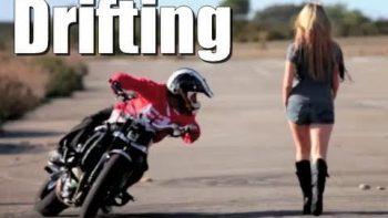 Amazing Motorcycle Drifting