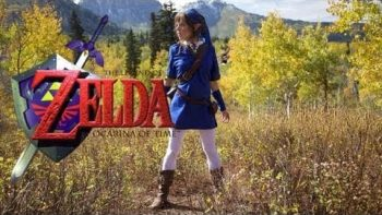 Girl In Elf Dress Performs Zelda Medley On Violin