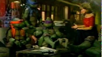 Barbra Walters Interviews The Teenage Mutant Ninja Turtles In 1991