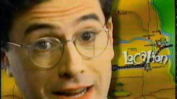 Very Young Stephen Colbert In FirsTier Bank Commercial