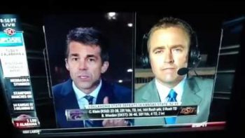 Oklahoma Earthquake Hits During Sportscaster Interview
