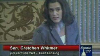 Michigan Senator Gretchen Whitmer Rebukes Republican Senator's Pro-Bullying Legislation