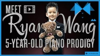 Five Year Old Piano Prodigy Ryan Wang Performs Private Concert For 101 Year Old Grandma