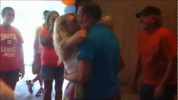 Girl Faints After Being Proposed To