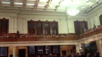 Texas Senate Spectators Voice Disgust With Ruling