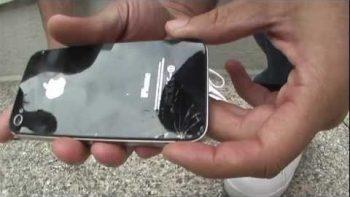 Drop Test: iPhone 4s VS Samsung Galaxy SII
