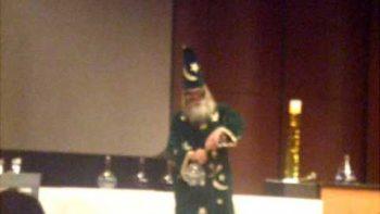 Chemist Wizard Performs Chemistry Potion Magic