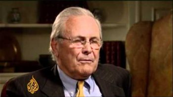 Donald Rumsfeld Heated Interview With Al Jazeera