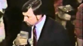 80's Reporter Fail At Ronald Reagan GOP Party