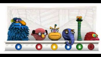 Jim Henson Google Doodle Puppets Sing 500 Miles